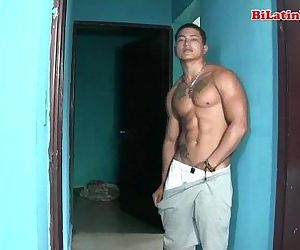 Warm latino guys with big..