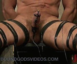 Bound up gay electro..