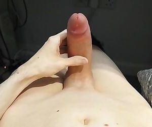 Large shaved uncircumcised..
