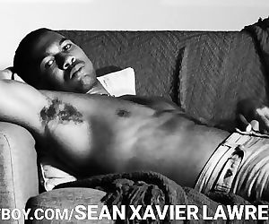 Sean Xavier Loving His Huge..