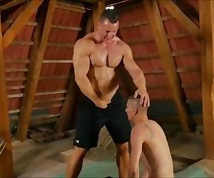 Horny Muscle Gay Getting..