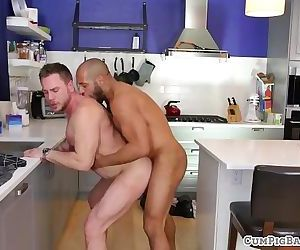 Mature duo barebacking in..