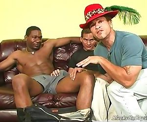 Black studs sharing the sack..