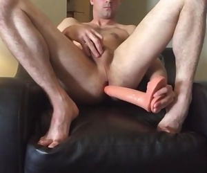 Toying with my dildos
