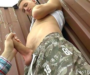 Czech Endowed with Fat Cock..